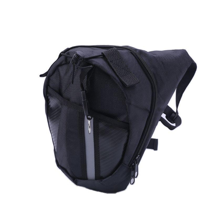 THINKTHENDO Fashion Men Women Outdoor Bag Leg Drop Motorcycle Waist Pack Unisex Multifunction Fanny Thigh Belt Bike Bags New Hot