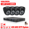 HDMI 1080PSecurity Camera System 4ch CCTV System AHD DVR Kit 4 X 720P Security Camera 1