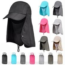 Уличные брендовые рыболовные Пешие прогулки ведро головные уборы для мужчин и женщин Съемный складной портативный водонепроницаемый рыбак шляпа 7 цветов