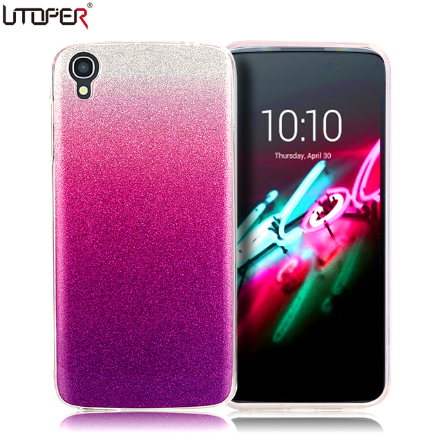 cdf7af85463 Idol 3 Case Silicon Glitter Phone Cover For Alcatel One Touch Idol 3 4.7