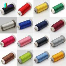 Hot Sale Colorful 3 strands Bold Leather/sofa/canvas/jeans/PU material/car mat Sewing Thread,DIY Stitching Thread 0.35mm S0511H(China)