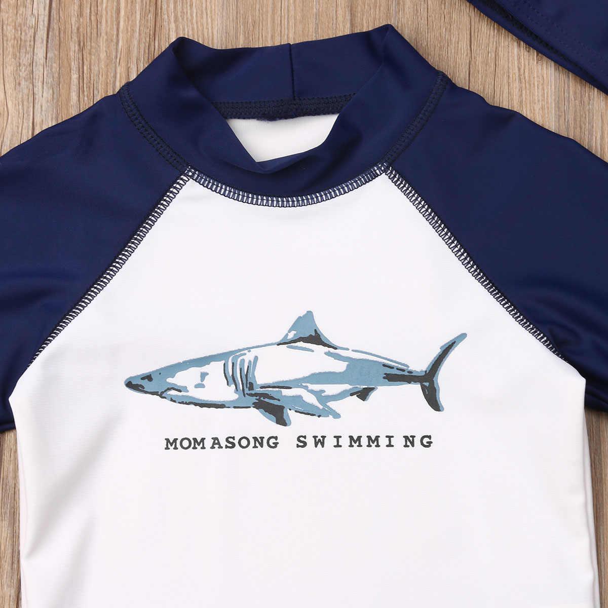 الاطفال طفل رضيع قصيرة الأكمام أعلى الملابس ملابس السباحة الاستحمام الشاطئ طفح الحرس بدلة ركوب الأمواج الملابس مجموعة