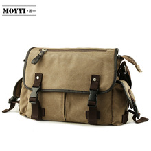 лучшая цена Vintage Men's Messenger Bags Canvas Shoulder Bag Fashion Man Business Crossbody Bag Printing Male Travel Handbag
