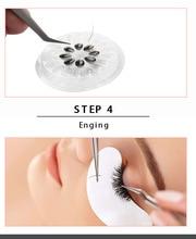 Glue Gasket Eyelash glue holder Adhesive Pallet Extension pads stand on eyelash plastic