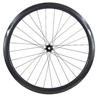 38mm tubeless front wheels 700c Raod bicycle wheels carbon disc wheel CT31 Central lock cyclocross road disc wheels 100*9 100*15