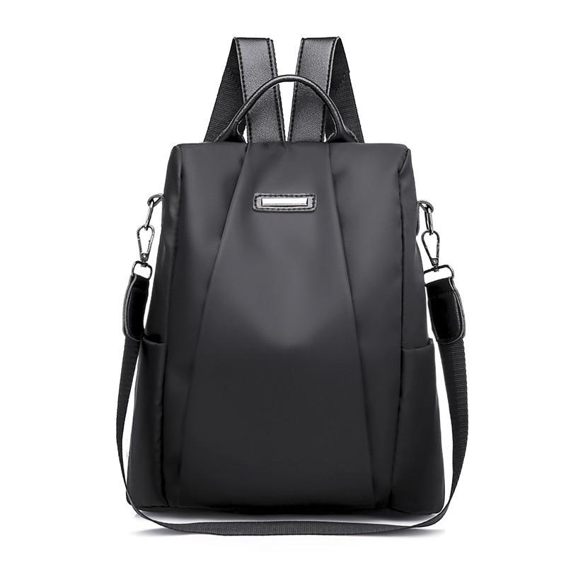 HTB1DPdhXojrK1RkHFNRq6ySvpXaI Fashion Laptop Backpack Nylon Charge Computer Backpack Anti-theft Waterproof Bag for Women Oxford cloth student bag Teenage