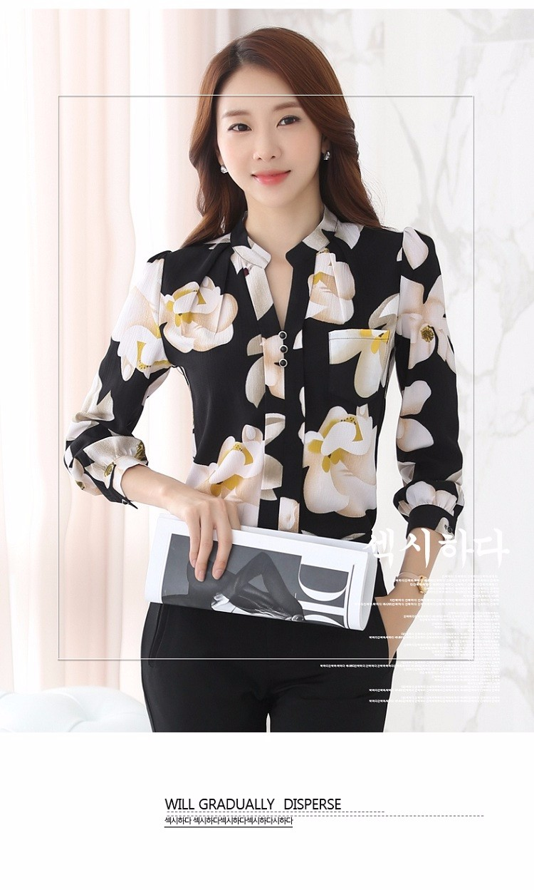HTB1DPdpNVXXXXbnapXXq6xXFXXX8 - Autumn Fashion Blouse Office Work Wear shirts Women Tops