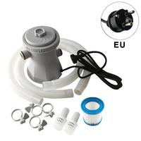 Filter Set 300 Gallon Above Ground For Swimming Pool Circulation 110V 240V Filter Pump Water Pump HS 630 Easy Quick To Install