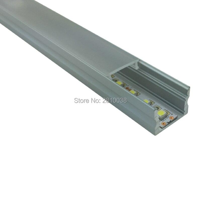 50 X 1M dəstləri / Lot Square Anodlaşdırılmış alüminium - LED işıqlandırma - Fotoqrafiya 2