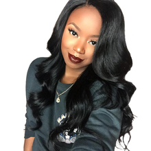 Top 7A Body Wave Glueless Lace Front Wigs Brazilian Virgin Human Hair Full Lace Wig For Black Women Natural Color 1#2#4#1B#