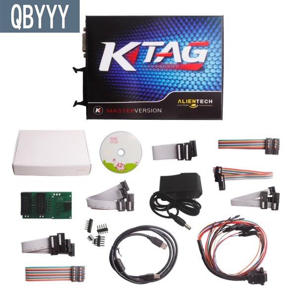 QBYYY V2.13 V6.070 KTAG K-TAG outil ECU Master V2.13 K-TAG matériel de programmation ECU V6.070 Ktag version de jetons illimités