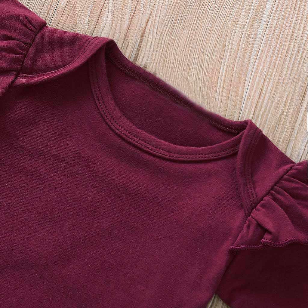 Bebê recém-nascido meninas da criança do bebê meninas mangas compridas macacão topos + floralpants + headbands conjunto roupas roupas de menina #06