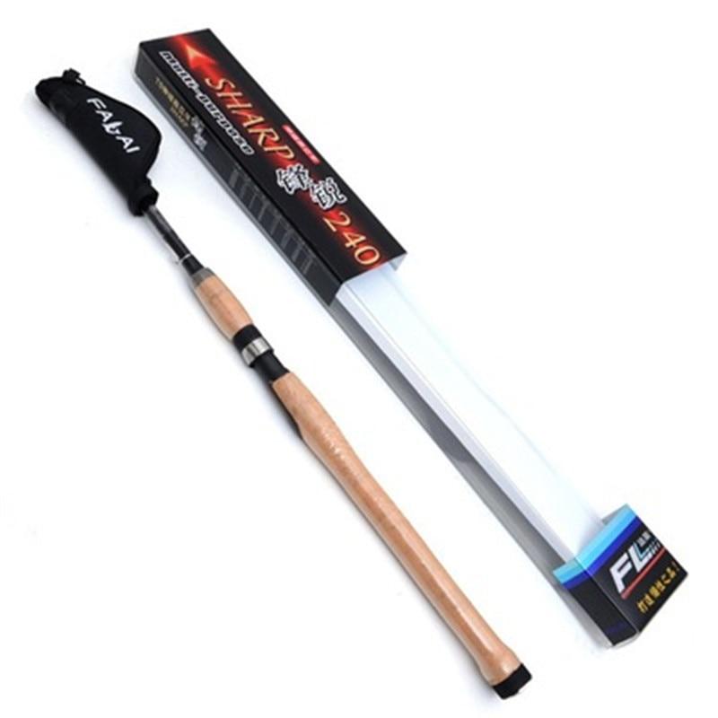 цена Portable Carbon Fiber Telescopic Fishing Rod 1.8 2.1 2.4 2.7 3.0 3.6m Fishing Rod Spinning Pole Sea Boat Carp Fishing Articles онлайн в 2017 году
