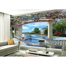 3D Wall Mural Wallpaper