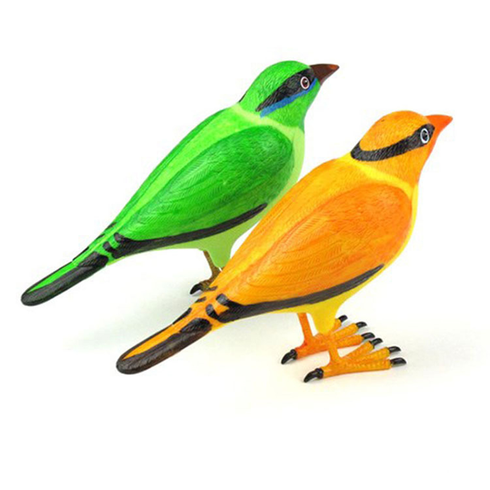 Home Security Wireless Simulation Bird Remote Control Chime Doorbell Digital Doorbells