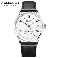 2018 AGELOCER Men Watches Swiss Men's Role Watch Automatic Luxury Famous Brand Business Gift Analog Arabic Numerals Watch Male