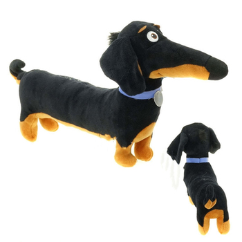 Stuffed Toys Dog 18*10 Stuff New Hot Cartoon Dachshund Cute Plush Baby Black Toy Holiday Birthday Gift Kids dog