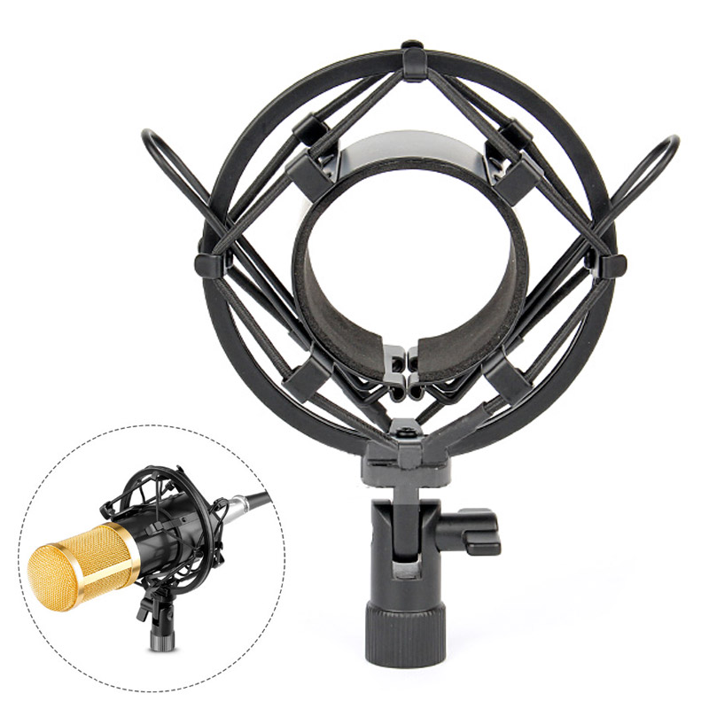 Microphone Shock Mount Microphone Stand For BM 800 Studio Microphone Spider Shock Mount Mic Holder Clip For bm800 Mikrofon micro image