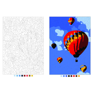 Image 2 - Digital Painting colouring books For Adults Children Relieve Stress Secret Garden Coloring Book Graffiti Painting Drawing book