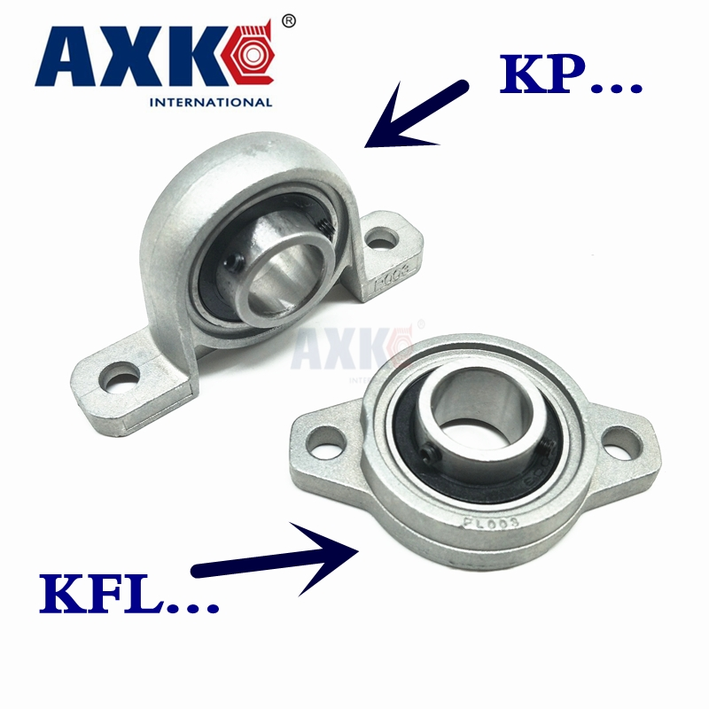 AXK KFL08 KP08 KFL000 KP000 KFL001 KP001 Bearing Shaft Support Spherical Roller Zinc Alloy Mounted Bearings Pillow Block Housing