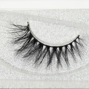 Image 1 - Visofreeขนตามิงค์3Dขนตายาวนานมิงค์ขนตาธรรมชาติละครปริมาณขนตาขยายขนตาปลอมD21