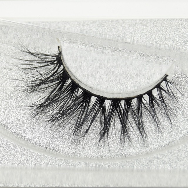 Visofreeขนตามิงค์3Dขนตายาวนานมิงค์ขนตาธรรมชาติละครปริมาณขนตาขยายขนตาปลอมD21