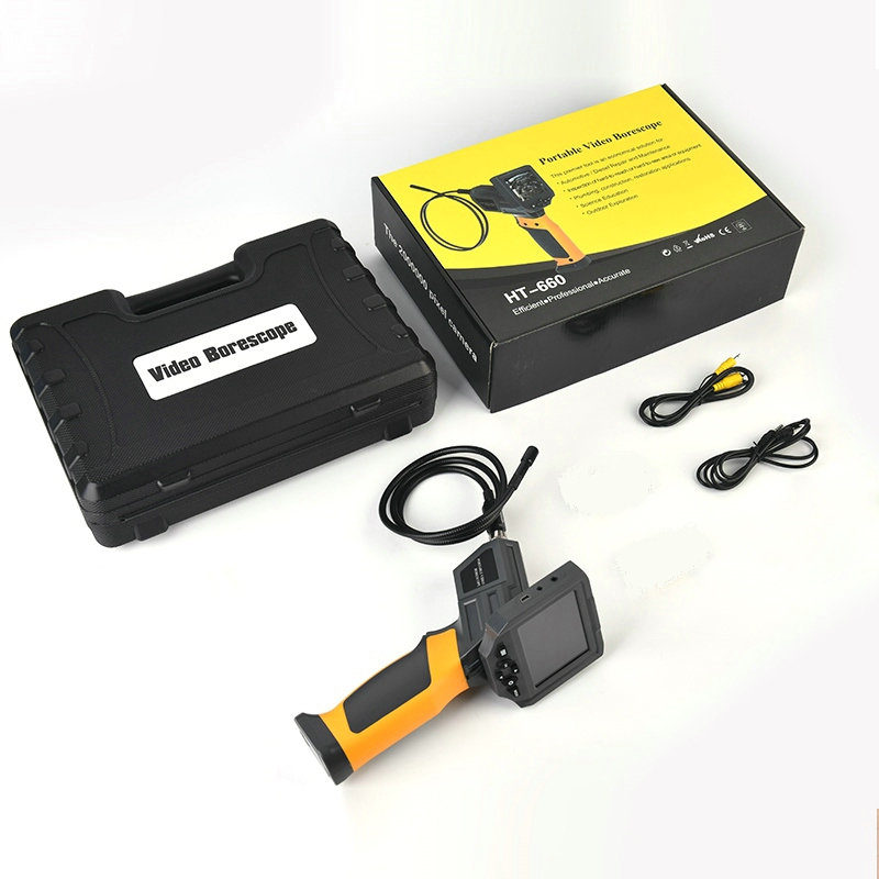 3.5 Inch Screen HD Camera Industrial Pipeline Endoscope Adjustable Focus Car Inspection Mirror Electrical Maintenance Inspection