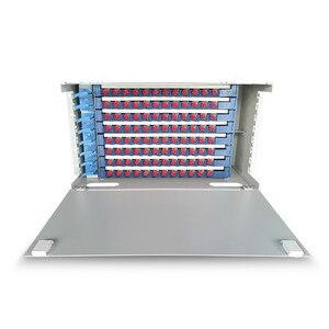 96 ядер стойка монтируется волоконно-оптическая ODF патч-панель, ODF оптическая распределительная коробка