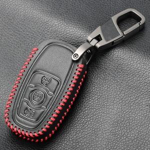 Image 4 - Porte clés en cuir véritable hommes