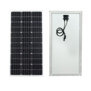 Image 2 - ECOworthy 200W solar power system: 2pcs 100W mono solar power panel& 20A LCD controller & 8pcs Z Brackets charge for 12V battery