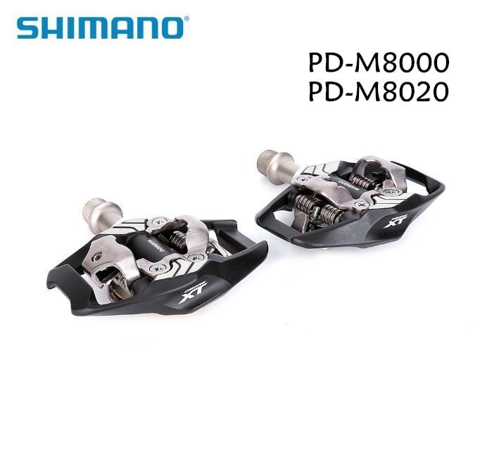 Shimano DEORE XT PD-M8000 PD-M8020 auto-bloquant SPD pédales VTT XC SPD course pédale M8000 M8020 uptade de M780 M785