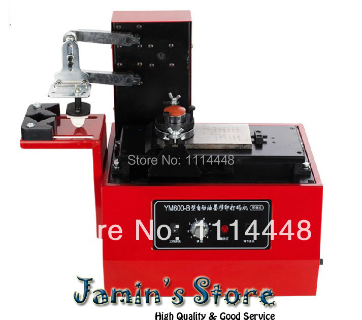 New 2014 160F Pad Printer Date Printing Machine Ink Coding Printer Machine Square plate