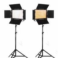 Viltrox 2x VL 40T Би Цвет затемнения Светодиодный Видео ж/Remote + 2 м Свет Стенд Камера DSLR фотостудия комплект