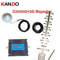 W 20M Cable Antenna Dual Band GSM 3G WCDMA Repeater LCD Display Function Dual Bands Booster