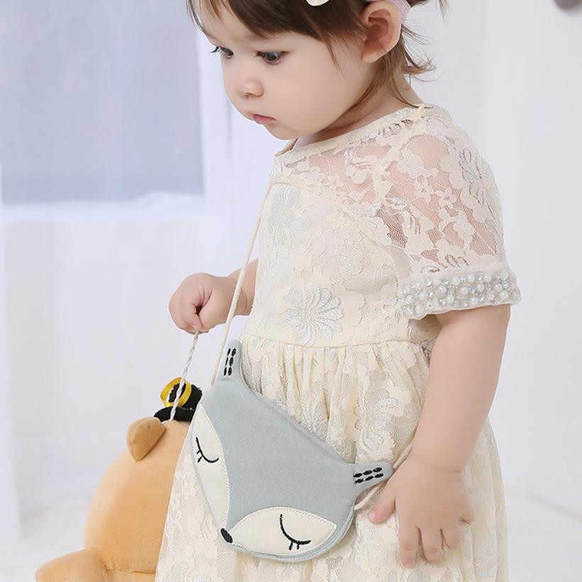 Новое поступление, милый детский кошелек с лисой, Детская сумка-мессенджер, сумка через плечо, Monederos Infantiles Monederos Mujer Monedas
