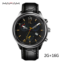 MF5 Air 3G Smart Watch Phone RAM 2 GB ROM 16 GB SIM karte QuadCore Herzfrequenz Android 5.1 WIFI GPS Bluetooth Smartwatch Andorid IOS