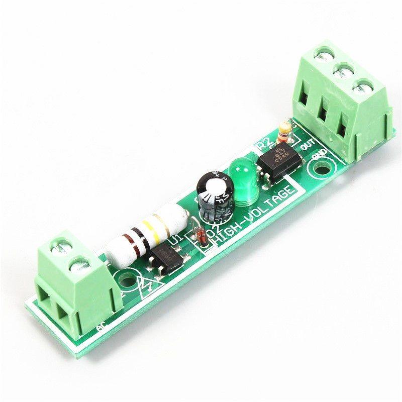 1PCS 1-Bit AC 220V Optocoupler Isolation Module Testing Board Adaptive For PLC S