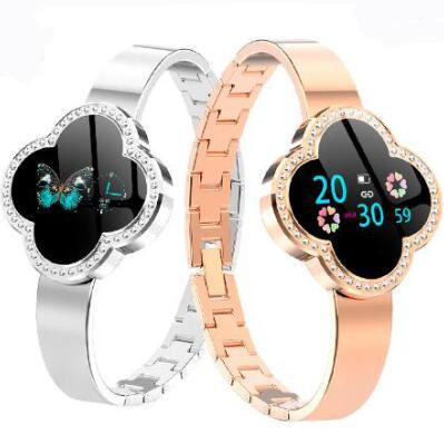 Ladies Watch S6 Smart Wristband heart rate Female Smart Bracelet Women Watch Fitness Tracker band Pk mi band 3 Pk honor band 4
