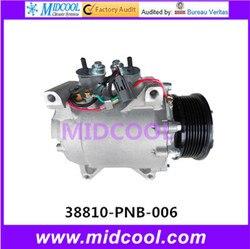 Wysokiej jakości auto AC sprężarka HS110R dla CRV 38810-PNB-006