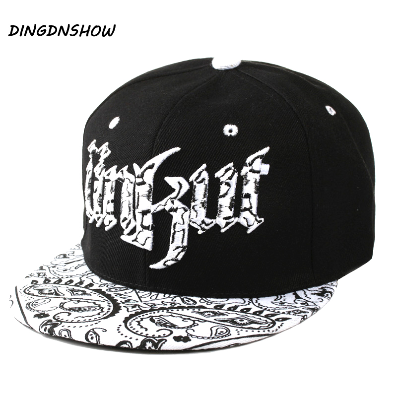 [DINGDNSHOW] Brand 2019   Baseball     Cap   Adult Snapbacks Hat Men Acrylic Hip Hop   Cap   Letters UNKUT Flat   Cap   for Women