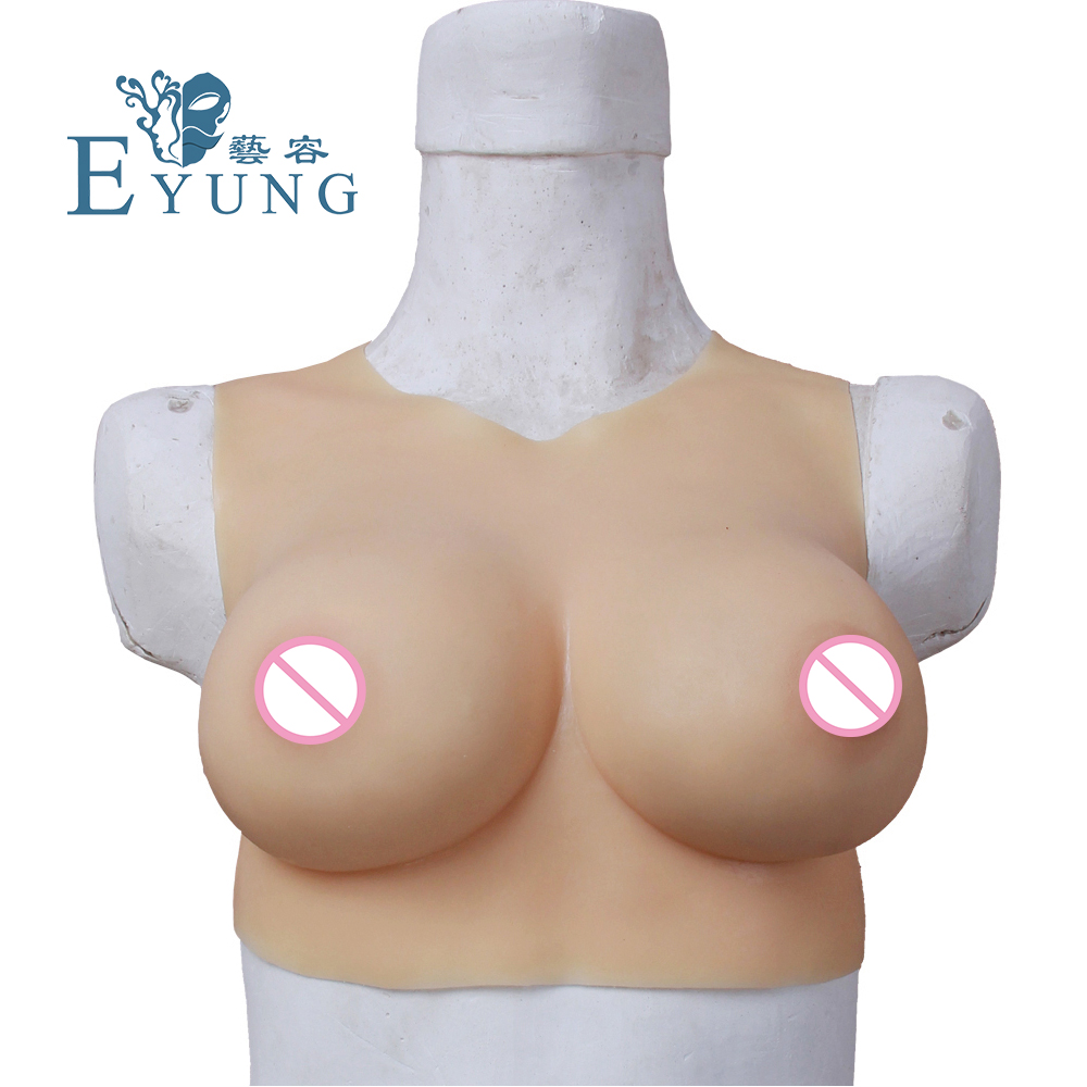 70C CUP High quality Silicone breast form Fake False Boob mastectomy transvestite crossdresseing bra Crossdresser CD drag queen