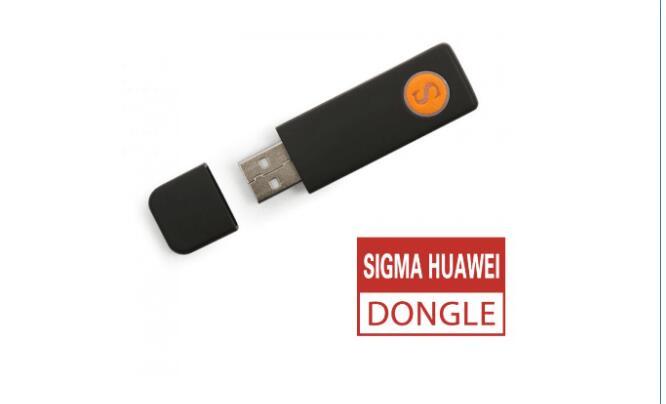 Le plus récent 100% original Sigma clé sigmakey dongle pour huawei flash réparation déverrouiller