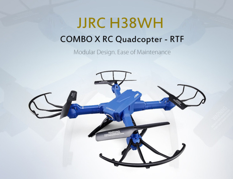 купить JJRC H38WH RC Quadcopter WiFi Camera FPV Detachable Modular Arm Headless Mode онлайн