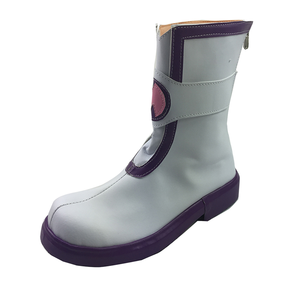 Brdwn Hyperdimension Neptunia womens Nepgear Cosplay Custom Shoes Short Boots
