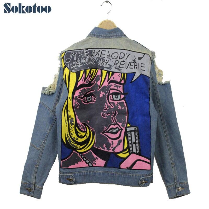 Sokotoo Hot sale Women  s ripped jeans Fashion boyfriend jeans for woman  Loose big size hole denim pants Free shippingUSD 19.00-20.90 piece ... c098d9cf8069