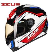 ZEUS Шлемы Мотоцикла Мотокроссу Полная Защита Лица Вообще Каско Moto внедорожные Capacete Motocicleta Улица Езда