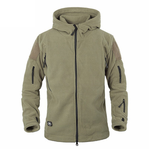 Image 1 - Winter Military Tactical Fleece Jacket Military Uniform Soft Shell Fleece Hoody Jacket Men Thermal Hoodie Coat