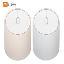 Xiaomi Mi Mini Wireless Mouse Aluminium Alloy ABS Material Support 2.4Ghz Wifi Bluetooth 4.0 For Windows 8 Win10 Laptop Computer