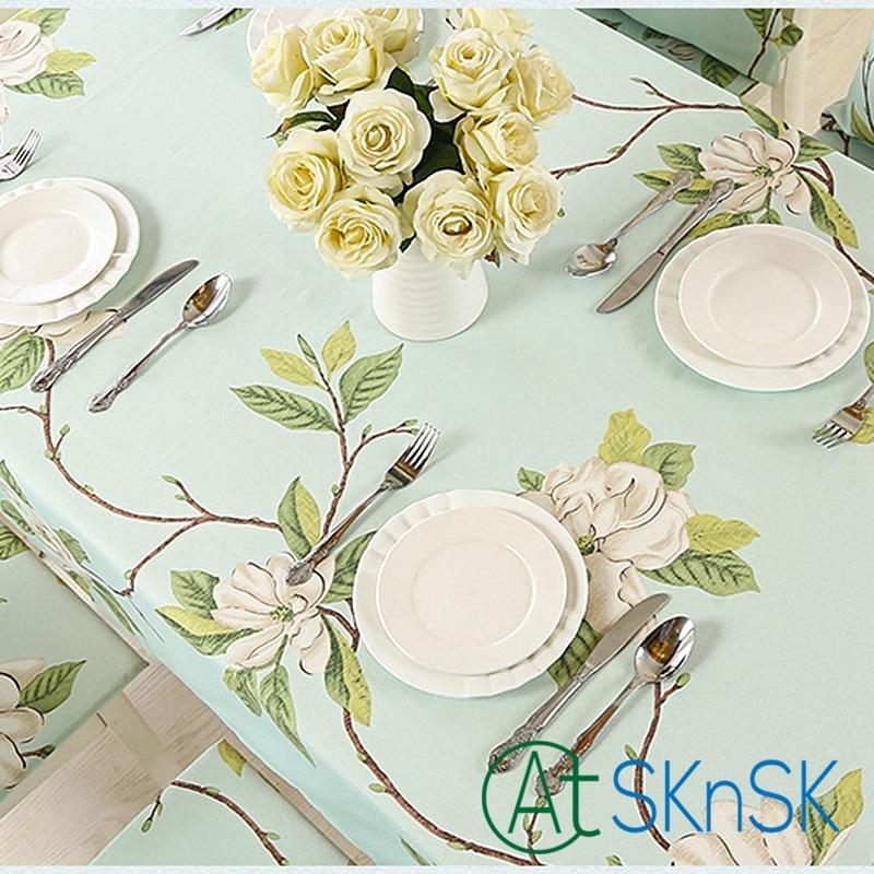 Home decoratie waterdicht doek tafelkleed stof oliebestendig pad - Thuis textiel