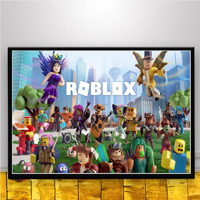 Fx1713 Roblox Classic Video Game Cartoon Comic Series Movie Custom